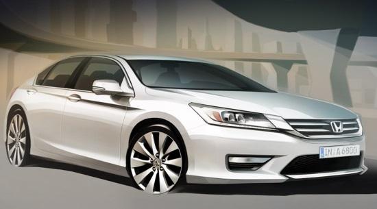 Honda Accord - автомобиль нового поколения